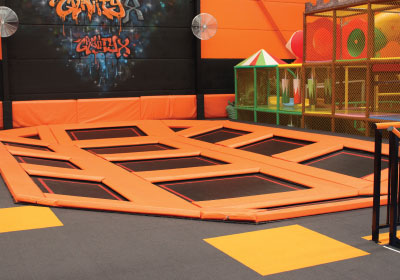 Junior Trampoline Space